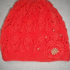 Pranz pärlitega meriino müts