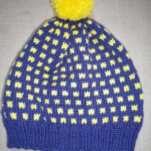 Sinine kollane meriino müts